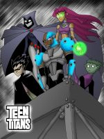 The Teen Titans by What-the-Gaff