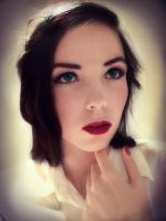 Burial at Sea Elizabeth makeup tryout~ by Izzybella4