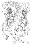 Churich and Lisette by 2inK