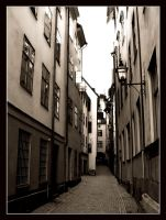 Narrow streets by Wavecut