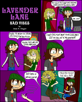 Lavender Lane - Bad Vibes by Sean-M-Yeager