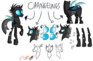 Changelings - Drawing Practice I guess by Turbo740
