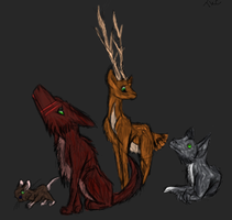 Marauders by ToxicKittyCat