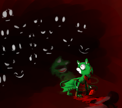 Halloween 2014: What Have You Done by SpeedlineTheHedgefox