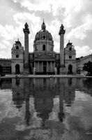 Postcard from Wien 5 by JACAC