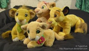 Old and New TLK Plush Comparison by TygonCub