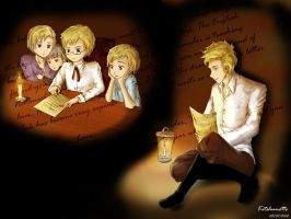 APH - Dear Brother by Kitshunette