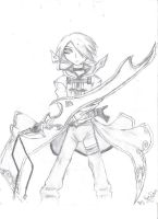 Girl With Sword by Kerra-D