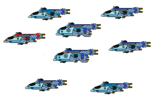 Federation scout squad by sirdoom1