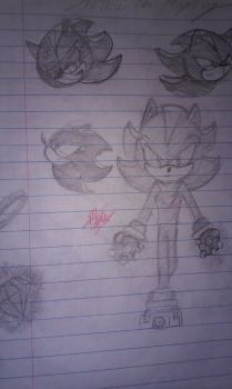 Shadow the Hedgehog Doodle by Wolf1226