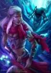 Warrior in the underdark by DragonsTrace