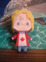 Canada Hoodie Papercraft by DuckHunter111