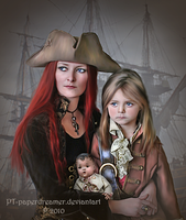 Pirate's Yule by PaperDreamerArt