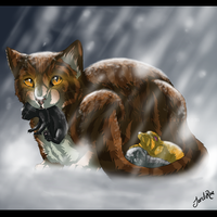Leafpool's Quest (v2) by TheMoonfall