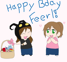 Happy Feerl Bday 2014 by K-chanLovesAnimeXD
