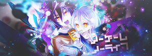 No Game No Life -unrelated colors- by tammypain