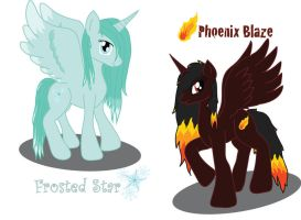 Alicorn OC's by Shylyn-Drawing-Queen