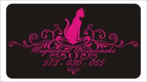 Visiting Card Cats by FictionFactory77