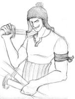 OP: Zoro in the JAYNE HAT by justira