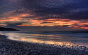 Inverness Beach Sunset by EvaMcDermott