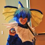 Phoenix Comicon 2011 Vaporeon by Recycledhero