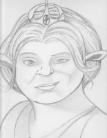 Princess Fiona the Ogre- Shrek by Justin1592