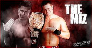 WWE Champion The Miz by Andrea6661