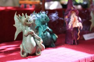 smoking dragon by psychodelic-candy