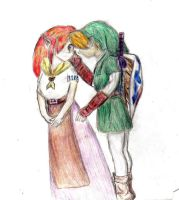 malon and link by oXshortstackXo