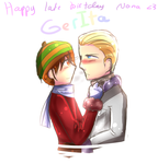 Happy VERY late birthday to Nona by Quenixy