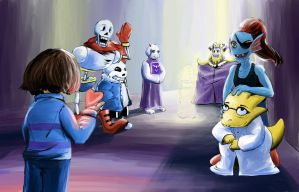 *SPOILERS* Undertale: We're going outside by IanKid