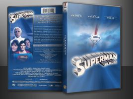 Superman: The Movie Custom DVD Cover (In Case) by SUPERMAN3D