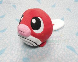 Red Poliwag Plush