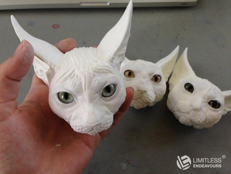 Sphynx Heads by LimitlessEndeavours