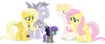 Nocti meets his grandma (Project horizons) by Vector-Brony