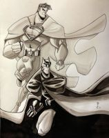 Worlds Finest by DCarelli
