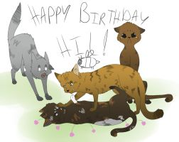 HAPPY BIRTHDAY POOP FOR YOU by BlueMaroon