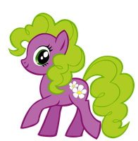 MLP Blind Bag Card #12: Flower Wishes by Names-Tailz