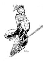 superior spiderman inks by camillo1988