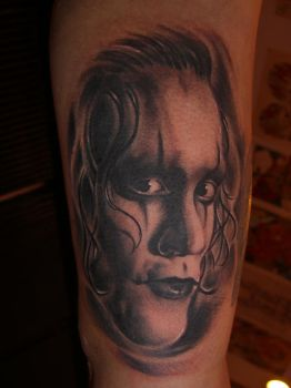 the crow brandon lee by dcanillas