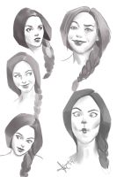 Some Expressions by victter-le-fou