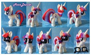 Moondancer plushie by Feneksia-Creations