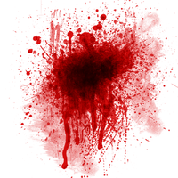 Blood Splatter Texture by iEniGmAGraphics