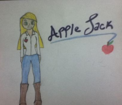 Apple Jack from Equestria Girls by layra2185