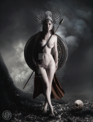 Penthesilea by ValantisDigitalArt