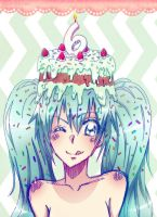 Happy Birthday, Miku by NarumyNatsue