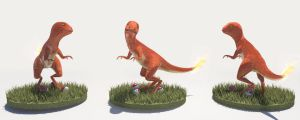 Charmander 3D by Whathehell13