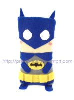 Little Batman phone cozy by prismtwine