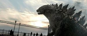 Godzilla 2014:  The King in the Sunlight by sonichedgehog2