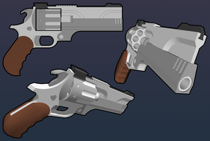 XLMF8 Magnum Revolver by MicahDC